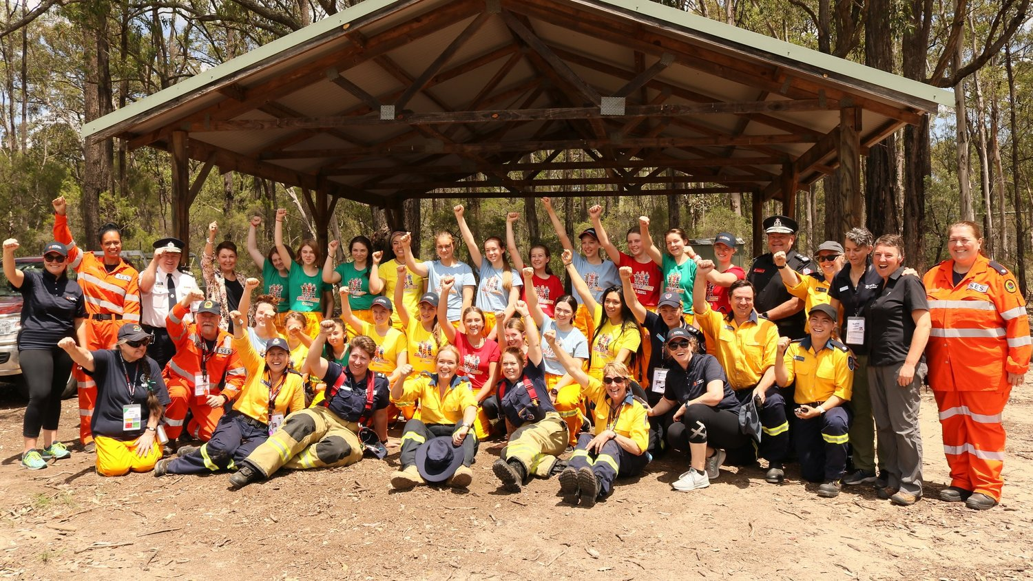 To promote and increase numbers of women and ethnically diverse people in Australian Fire Agencies